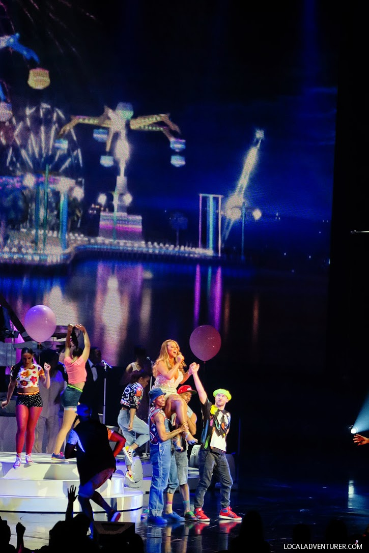 Mariah Carey Las Vegas Caesars Residency.