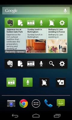*為廣受好評的雲端記事本:Evernote (Android App) 4