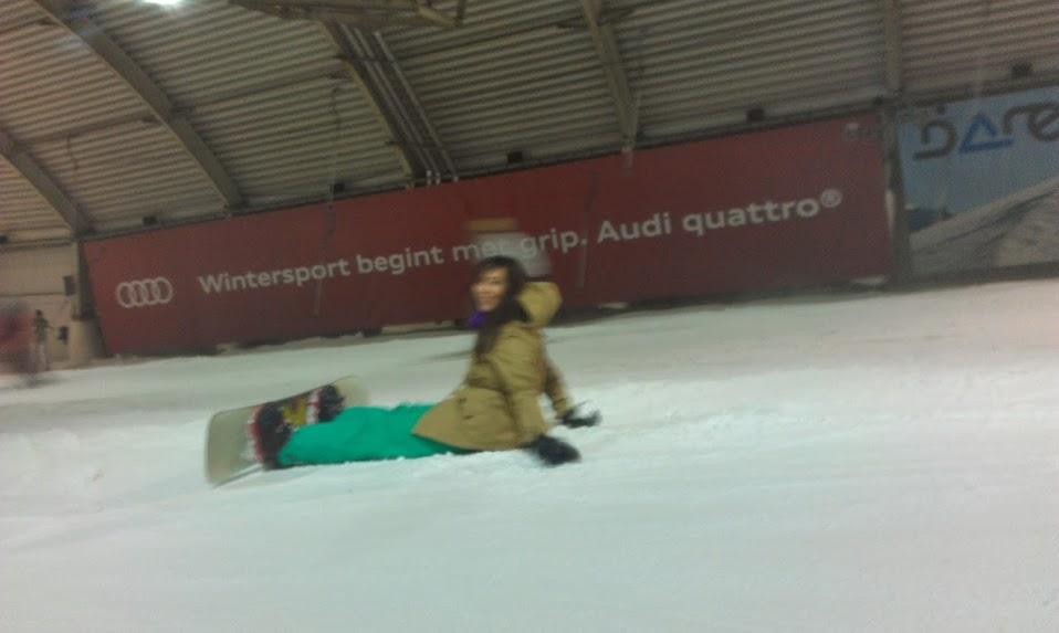 snowboarden, woman, chicks on boards, Evelyn, Style Spy, snowworld, zoetermeer