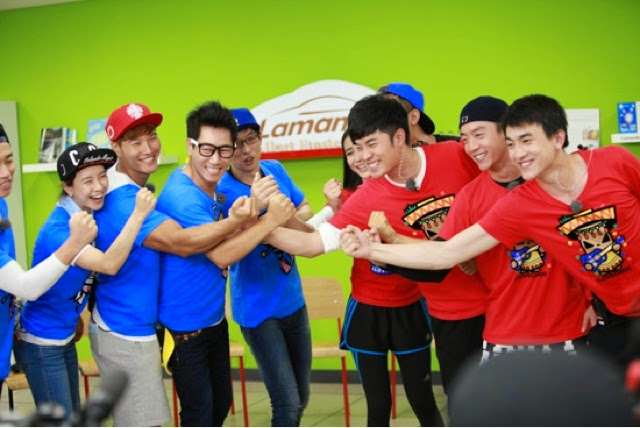running man china vs