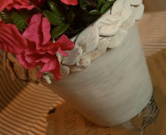 Clay Leaf Planter