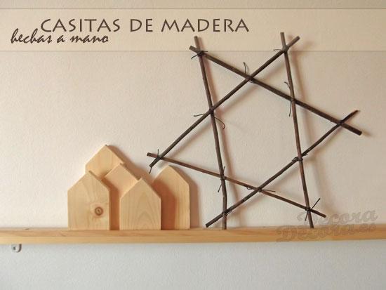 Casas de madera.