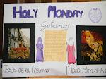 Exposición trabajos en inglés Semana Santa