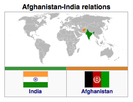 Afghanistan - India Relations
