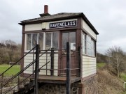 Ravenglass signal box