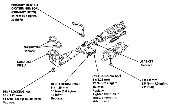 Diagram Of 1999 Vw Beetle Exhaust System, Diagram, Free