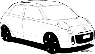 Fiat 500 USA: April 2012