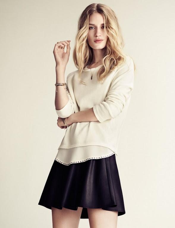 #鉚釘的溫柔氣質: Linda Vojtová 經典呈現 H&M 2013 Fall Lookbook! 10