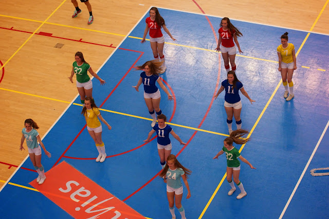 cheerleaders Knack Roeselare
