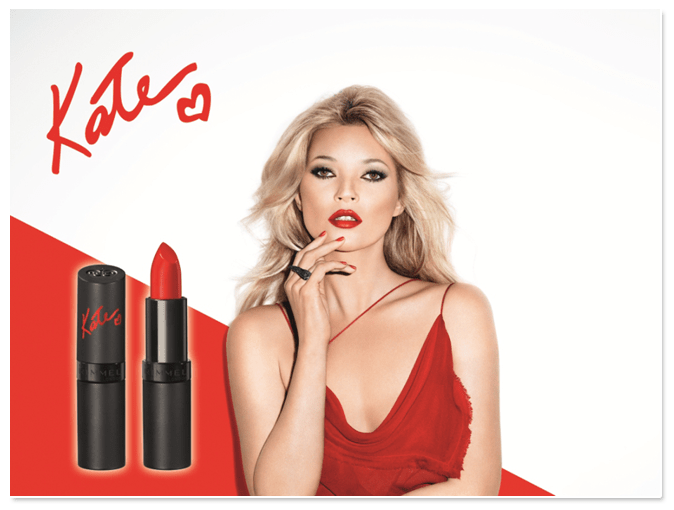 Rimmel London by Kate Moss