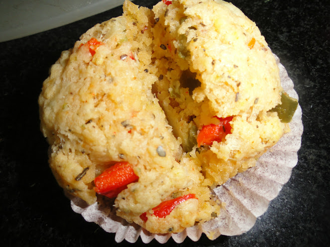 Eggless Savoury Muffins and Sin-a-mon (5/6)