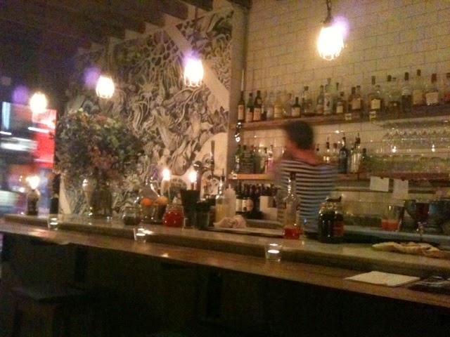 Bar at Mussel Men
