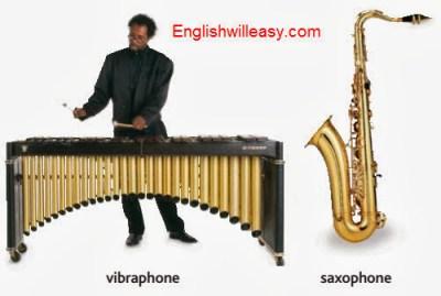 vibraphone, szaxofon
