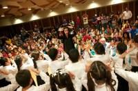 Finalmente, los participantes de este encuentro del mes de junio del Programa Nuevos Integrantes se unieron para escuchar al Coro Infantil Simón Rodríguez del Núcleo La Hoyada