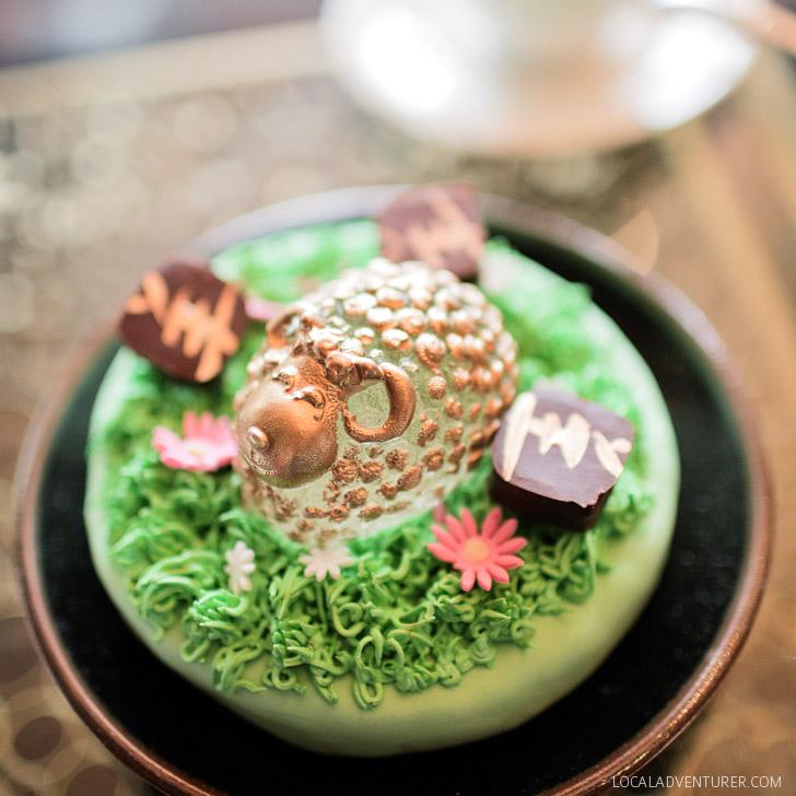 High Tea Mandarin Oriental Las Vegas.