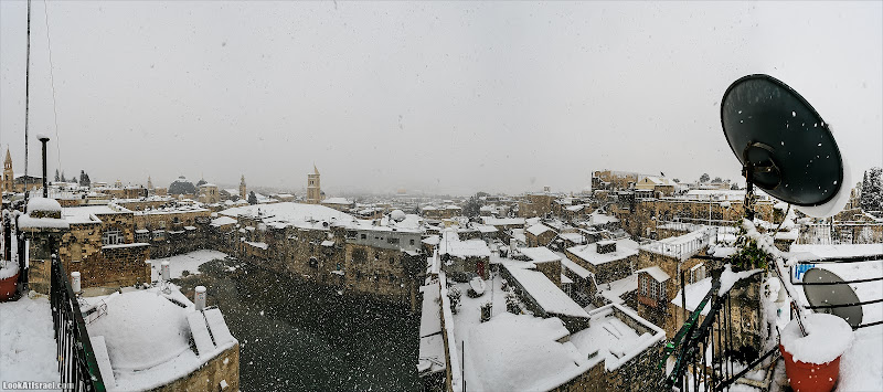 Снег в Иерусалиме. Часть II - Панорамный город