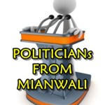 POLITICIANs FROM MIANWALI