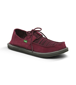 #Sanuk 麂皮民俗異材拼接:RAMBLER一孔鞋! 1