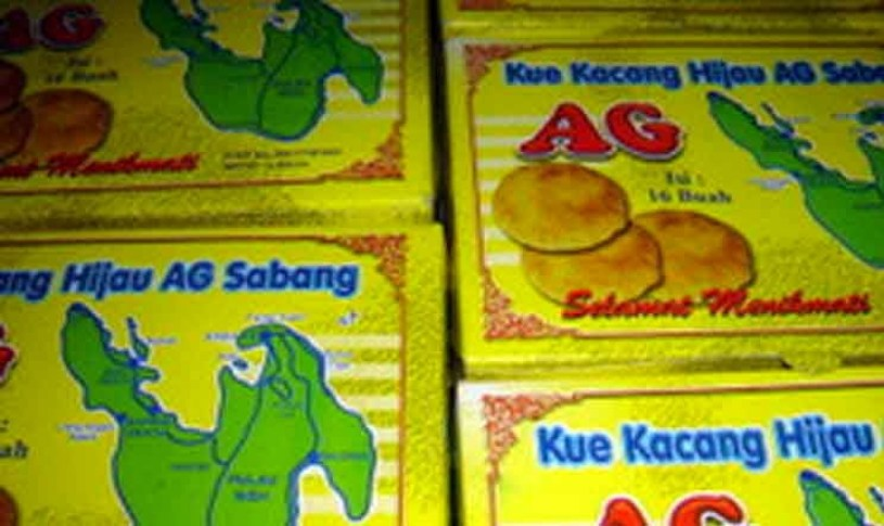 Penganan asal Tionghoa khas Sabang (Bakpia AG)