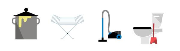 Emoticonos para el móvil de IKEA