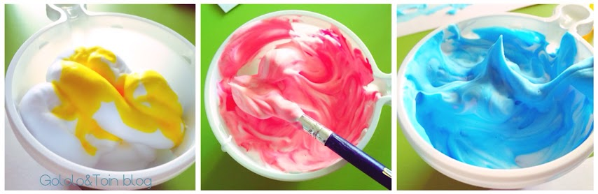 pintura-colorante-espuma-afeitar-texturas-pintar