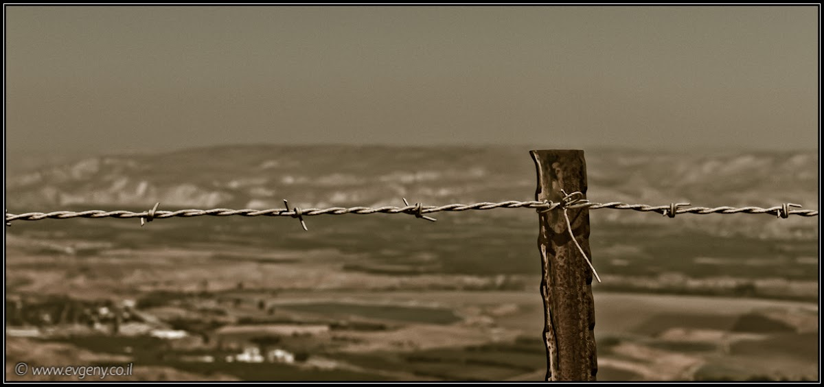 По дороге 717 к крепости Кохав ha-Ярден | On route 717 to Kohav ha-yarden | בכביש 717 לכוכב הירדן