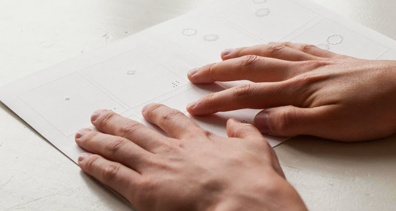 *摸得到看不到:盲人專屬的觸覺漫畫《Life》 1