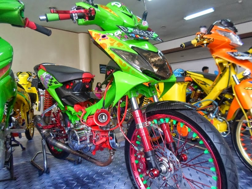 Modifikasi Motor Drag Honda Blade  Thecitycyclist