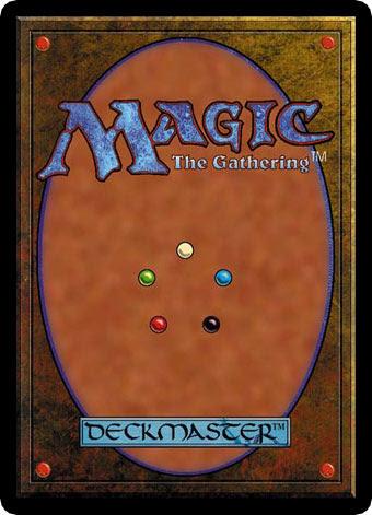 Verso de um card de Magic: the Gathering