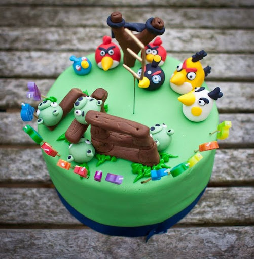 angry birds cake 50 best angry birds birthday cakes ideas and designs 1307