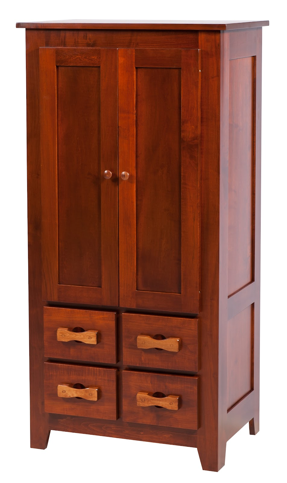 Shaker Armoire Dressers  Solid Wood Dresser in the Shaker Style