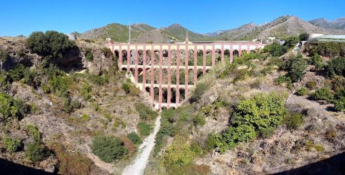 Ruta por Andalucía. Viaducto del Águila, Nerja
