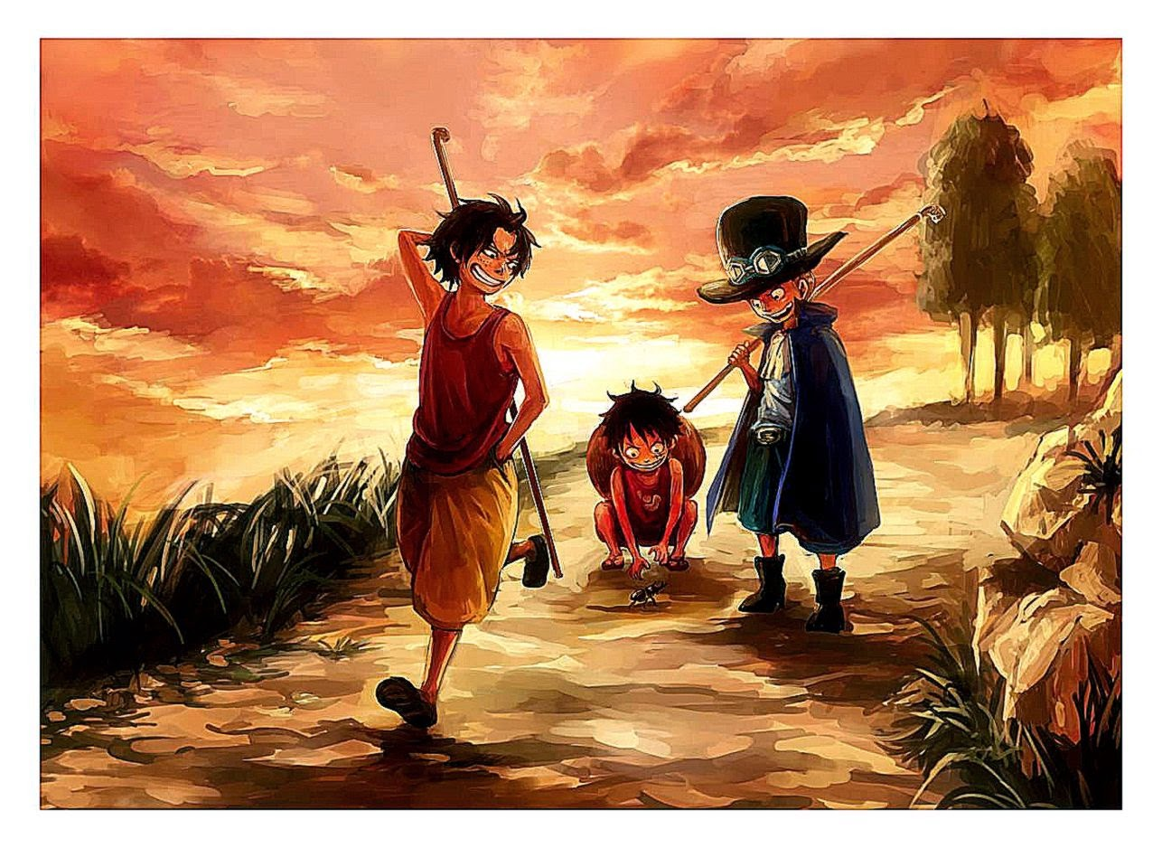 Make your device cooler and more beautiful. Ace Luffy And Sabo Hd Wallpaper | Photo Wallpapers