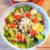 Elegant Luncheon Salad, Southwestern Style