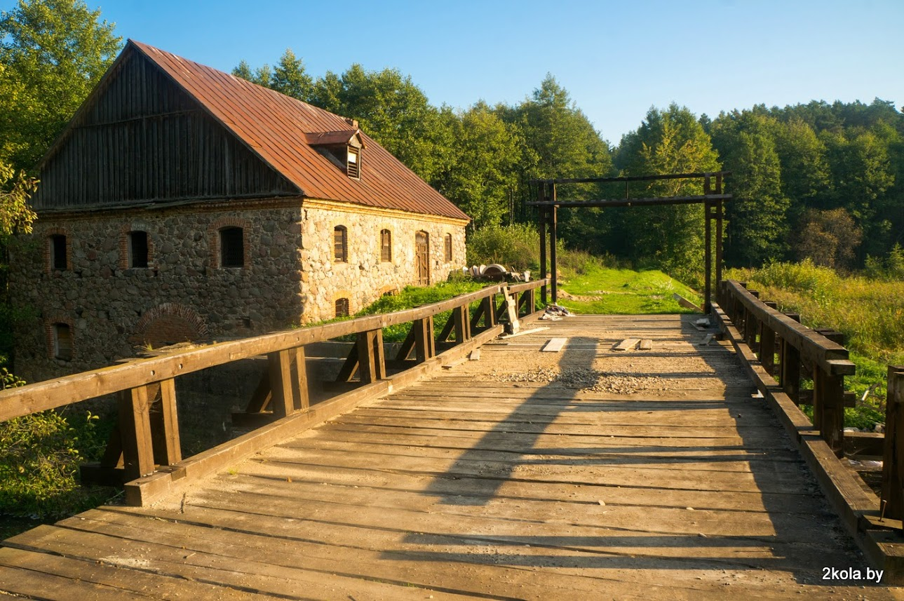 Водяная мельница. д. Староельня