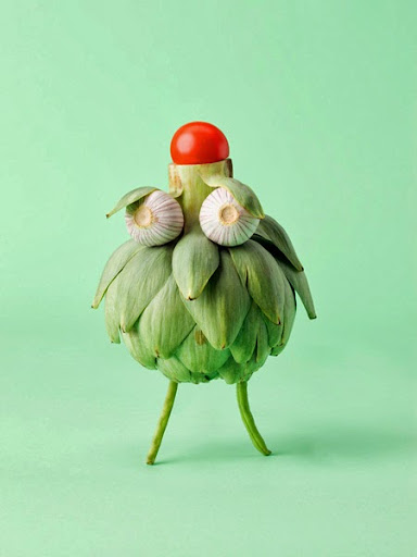 Animals Made Out Of Fruit And Vegetables