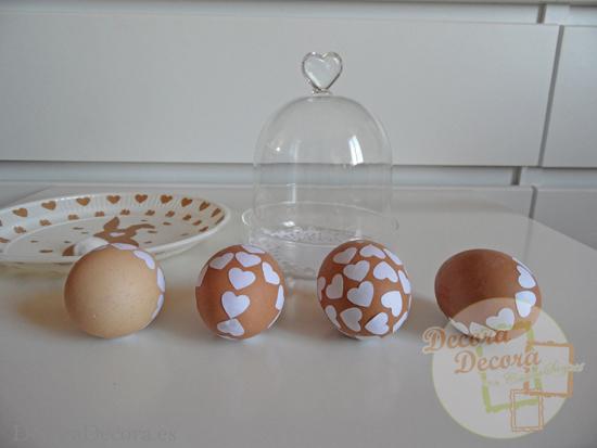 Idea fácil para decorar en Pascua.