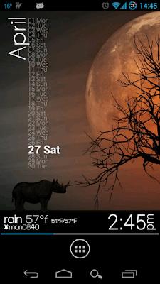 *最時尚又特殊的時鐘小工具:Zooper Widget (Android App) 3