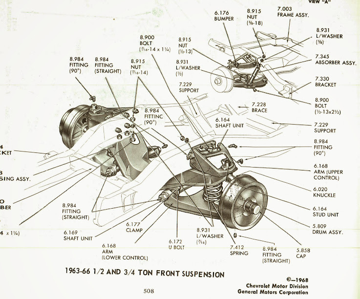 1998 Chevy Truck Front Suspension Diagram, 1998, Free