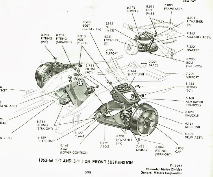 link suspension chevy silverado front end diagram 2004 chevrolet
