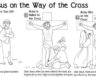 Printable Stations of the Cross for Children