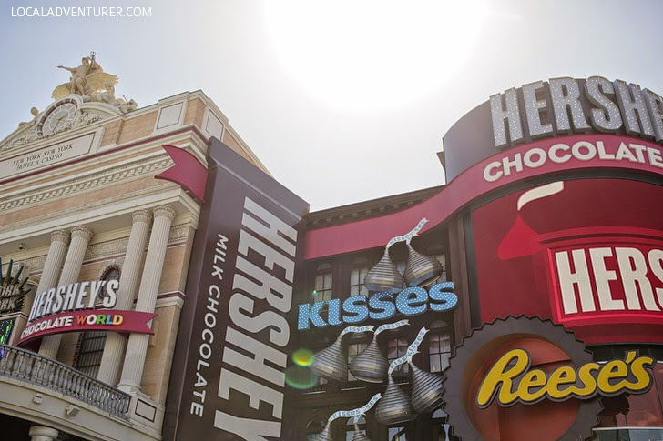 Hershey's Chocolate World (25 Free Things to Do in Las Vegas).