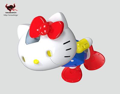 #無敵鐵金剛+凱蒂貓=?:登場吧! 超合金 Hello Kitty !! 4