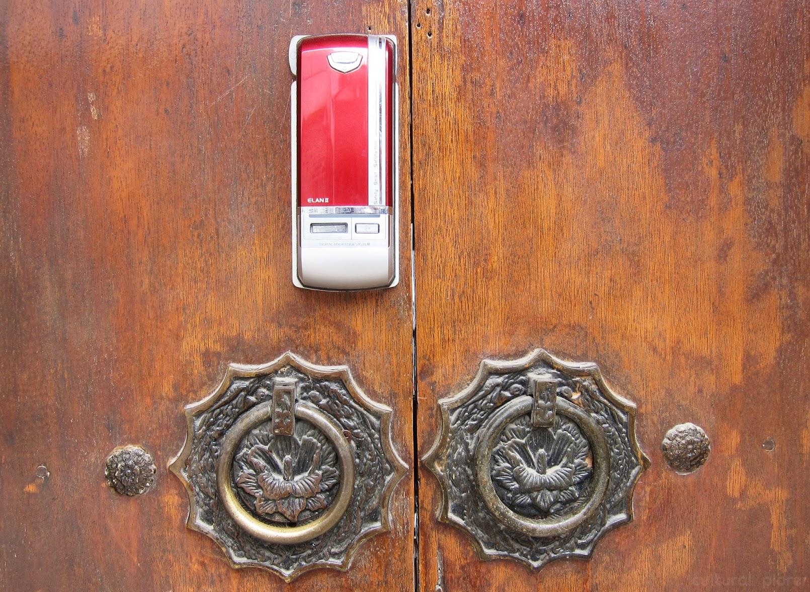Bukchon Hanok Village Door