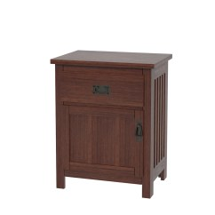 Amish Built Sofa Tables Ashley Hogan Reviews Mission Nightstand With Doors | Solid Wood In ...