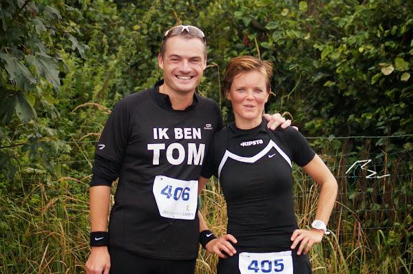 Tom Bonte en Nancy Vande Moortel - Wervikhove Loopt 2013