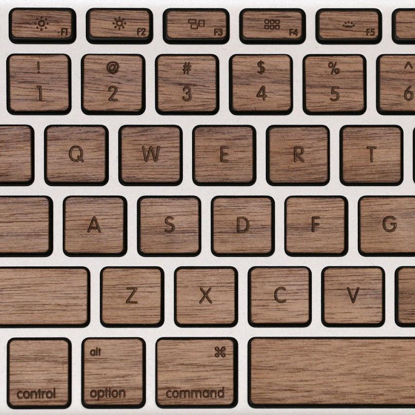 *指尖上滑順的觸感:Lazerwood 木質鍵盤! 5