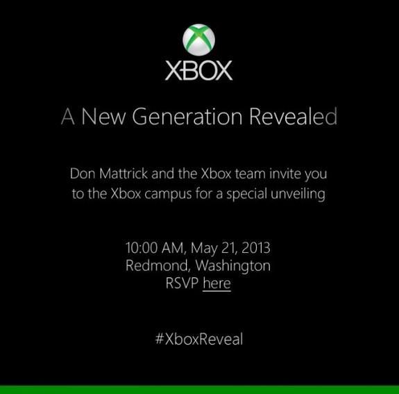 Xbox 720 confirmado!