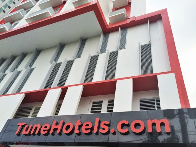 Tune Hotel Ortigas : An Affordable Hotel at Pasig City's