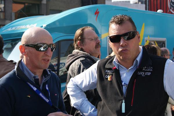 Carlo Bomans en Wilfried Peeters
